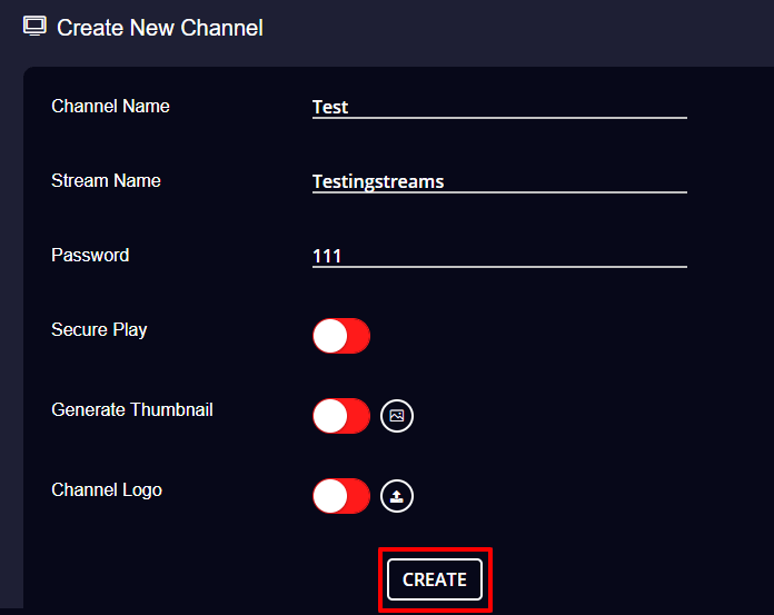 Livebox streaming channels